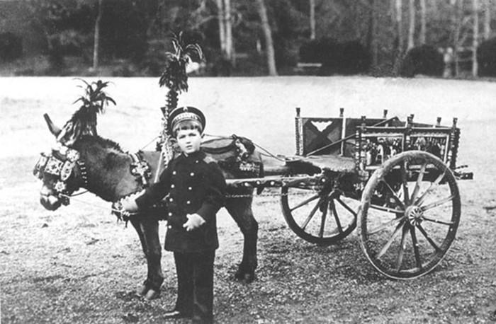 В какие игры играли в детстве русские императоры