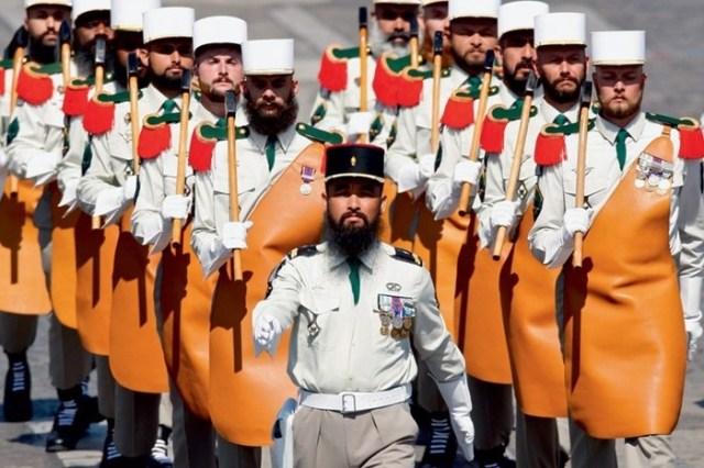 Необычная военная форма разных стран