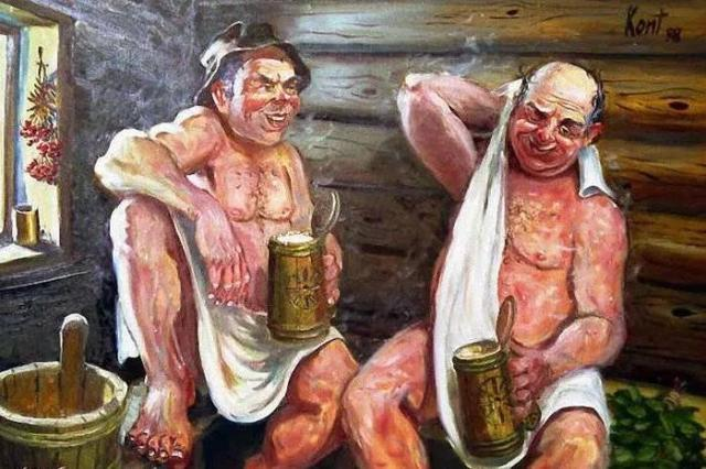 Какие напитки нельзя пить в русской бане