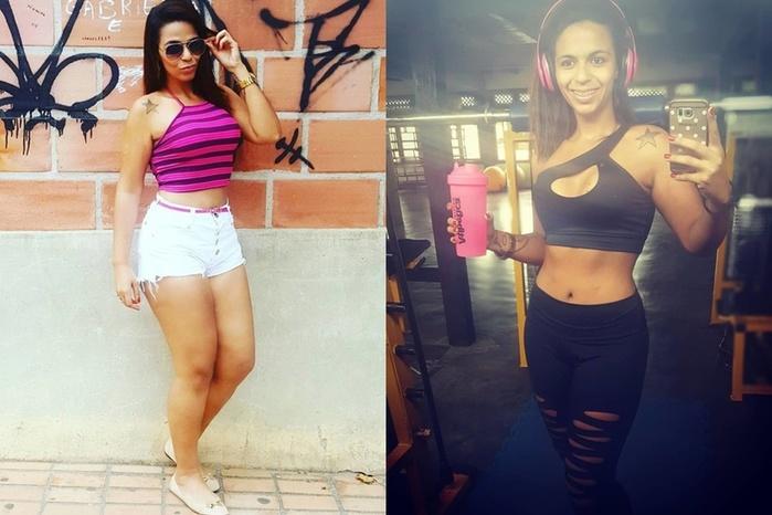 Бразильская инстаграм звезда похудела на 47 килограммов, но все еще чувствует себя толстой