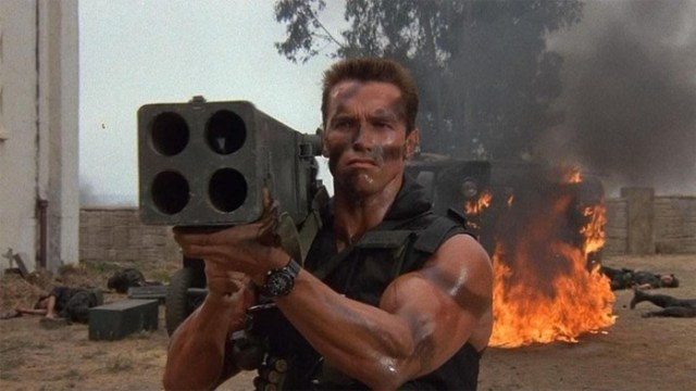 Лучшие боевики эпохи видеосалонов. Слай против Шварца