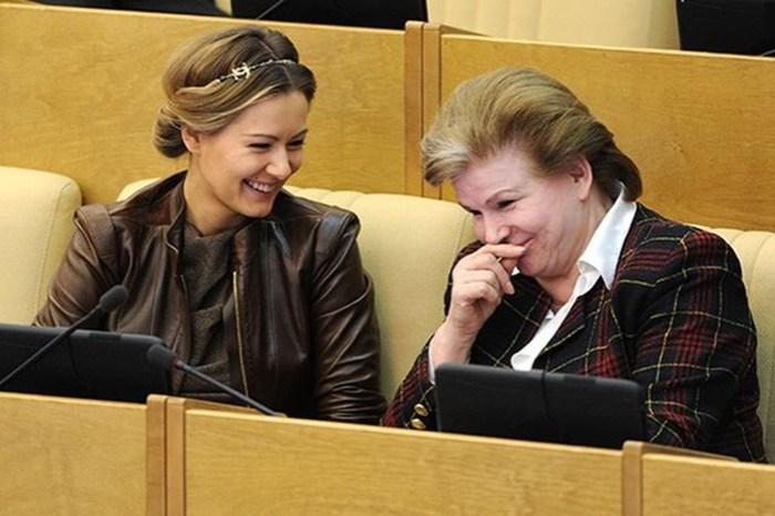 Деградирующая российская элита: фотографии