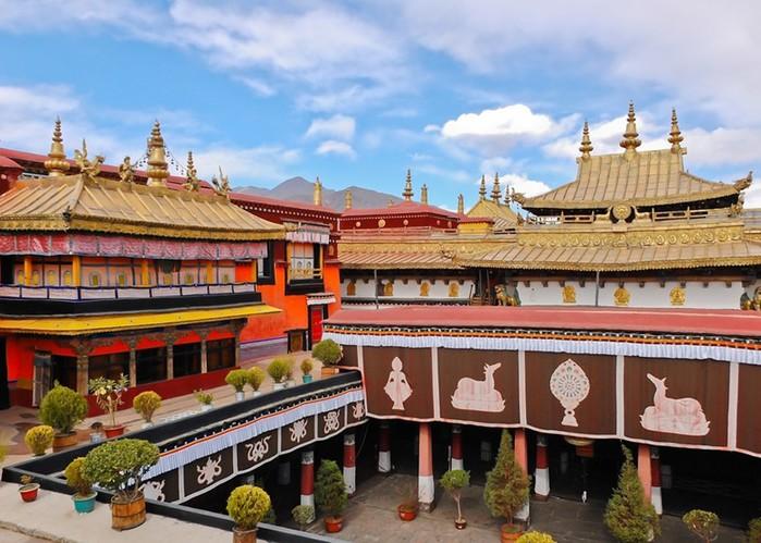 Лхаса: достопримечательности столицы Тибета   крыши мира иземли Богов