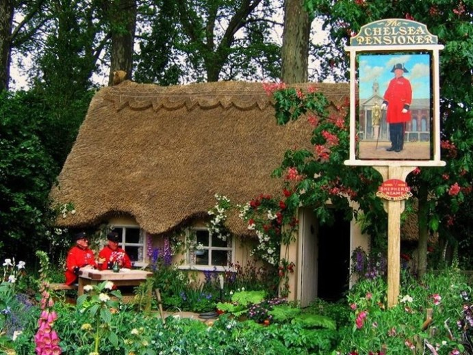 Сказочное графство Девоншир: фотографии красивых английских домиков