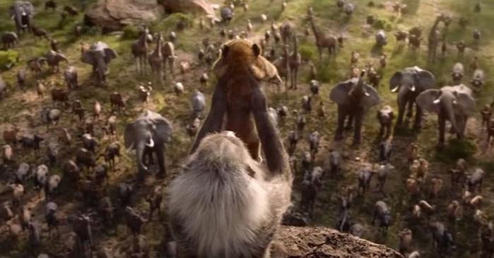Блогер сравнил классический мультфильм «Король Лев» и новый фильм