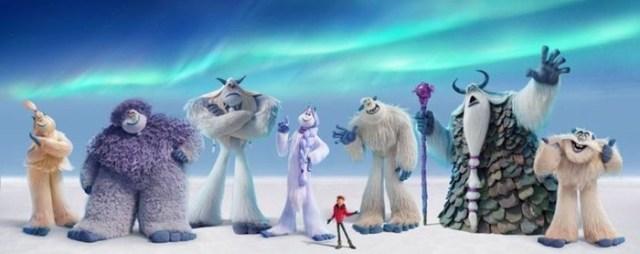 Цибульська, Фагот іПедан стали голосами мультфільму «Смолфут»
