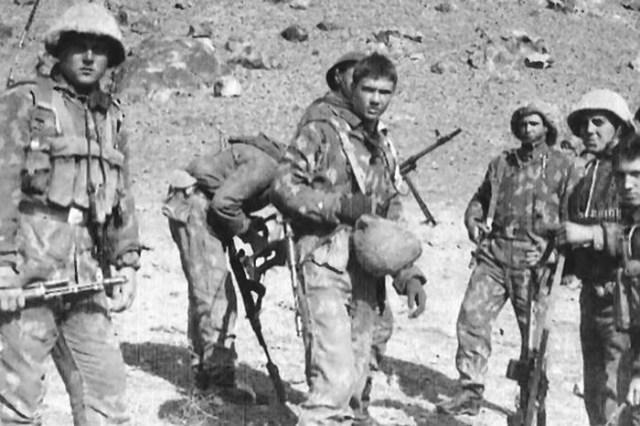 Знаменитый бой советских солдат у кишлака Коньяк в Афганистане