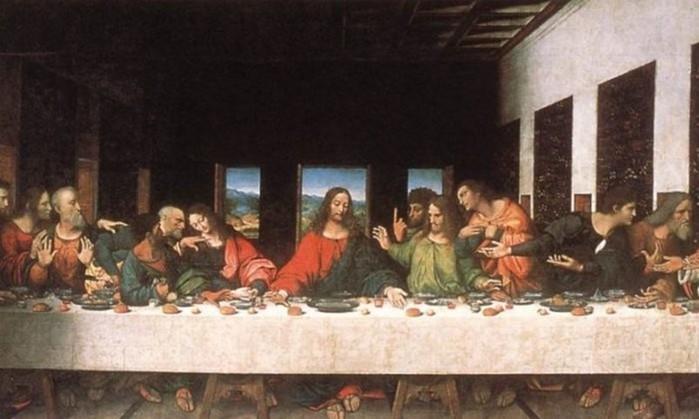 Загадки фрески Леонардо Да Винчи «Тайная вечеря»