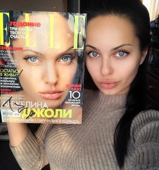 Двойник Анджелины Джоли: россиянка поражает сходством с известной актрисой