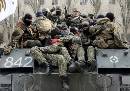 Бойовики використовують кримську зброю