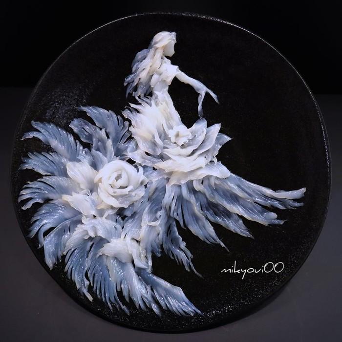 Сашими mikyoui00 как произведение искусства