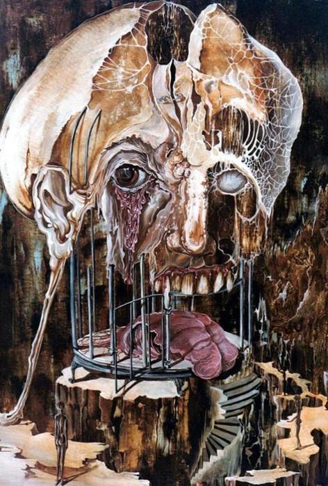 Самые страшные картины выдающихся художников