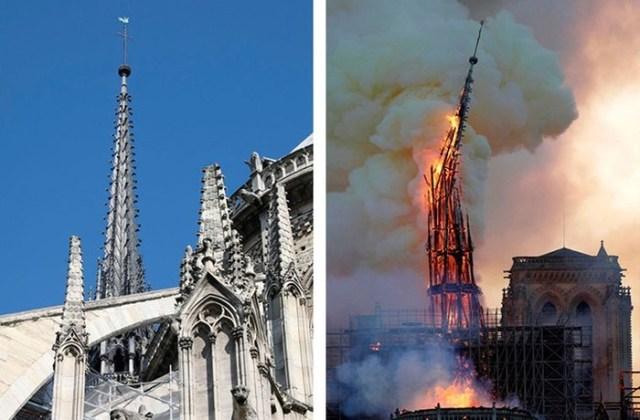 Известные культурные достопримечательности мира, которые пострадали от пожаров
