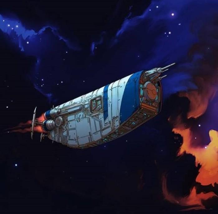 Как сделать космические корабли из обычных предметов