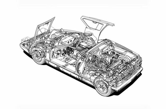 50 лет легендарному Mercedes Benz С111