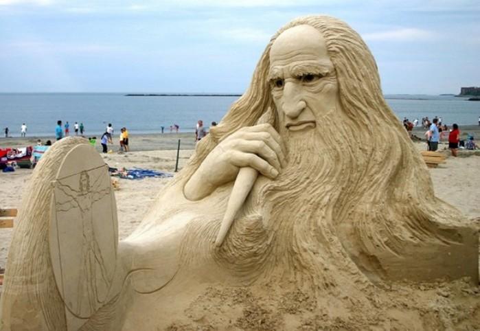 Скульптуры из песка, которые поражают воображение
