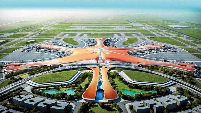 В Пекине открылся крупнейший в мире международный аэропорт Дасин