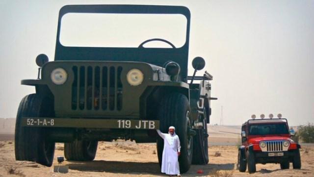 Арабский шейх собрал коллекцию гигантских автомобилей