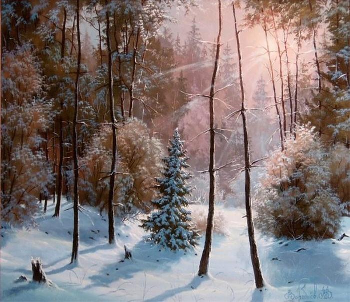 Сказочные картины Владимира Воробьева