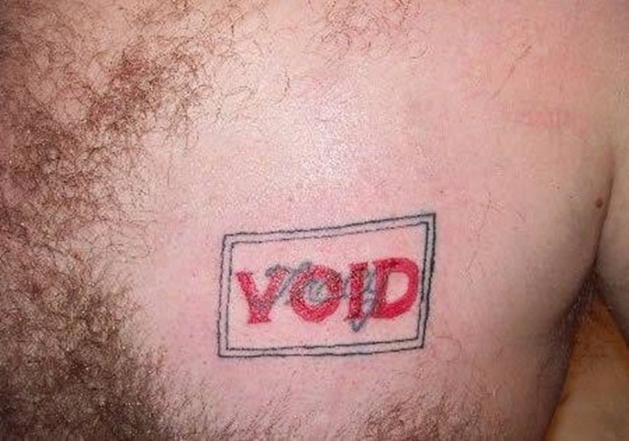 Попытки исправить татуировки с именами бывших