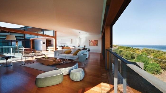 Красивые примеры современной архитектуры и дизайна интерьеров
