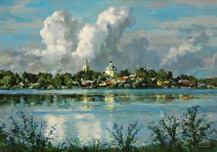 Творчество современного художника Павла Еськова