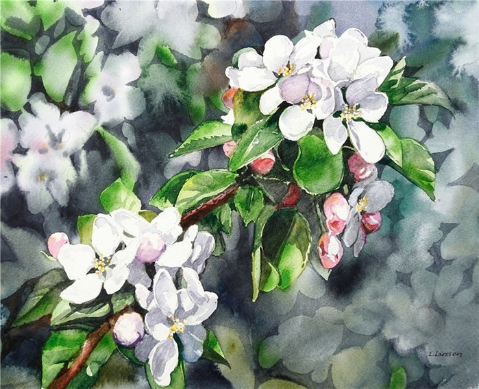 Линнея Ларссон   Майское разноцветье...