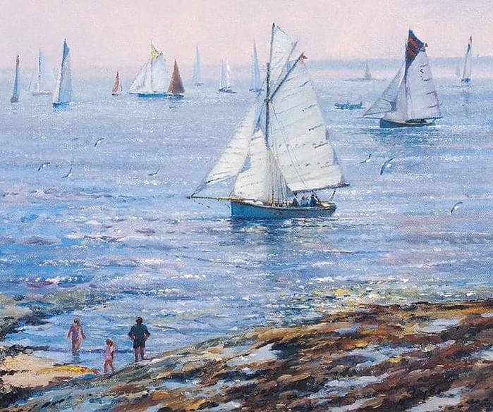 Морские пейзажи в творчестве художника Тэда Дайера