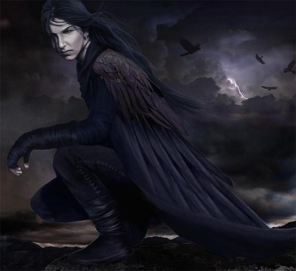 """Ворон, по имени """"Никогда"""". - Готика и фентези. Картинки и ..."""