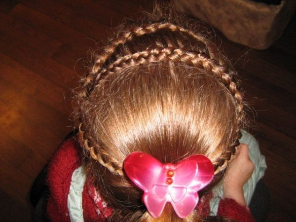 Детские прически для длинных волос. Обсуждение на ...