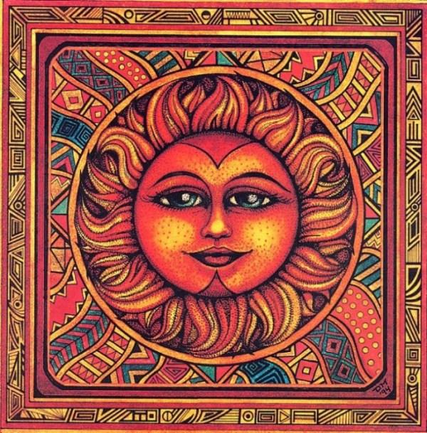 Солнце+Орнамент+Луна. Обсуждение на LiveInternet ...