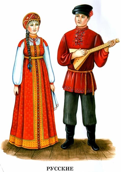 Национальные костюмы Народы России Обсуждение на