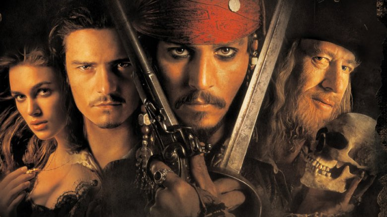pirates of the caribbean changed action