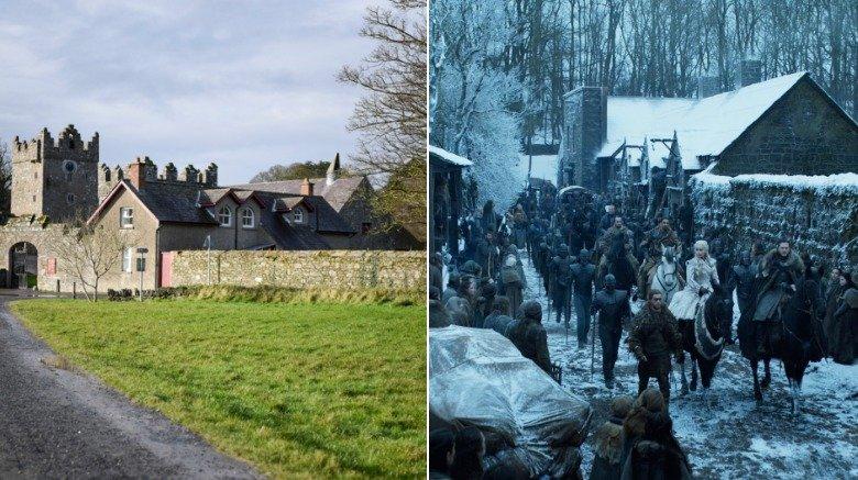 Doune Castle & Castle Ward (Winterfell)
