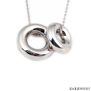 【E&I】-愛的甜甜圈-316L白鋼圈圈造型項鍊(情侶項鍊/對鍊)推薦開箱!! @ 郁涵韓系飾品特賣會 :: 隨意窩 Xuite日誌