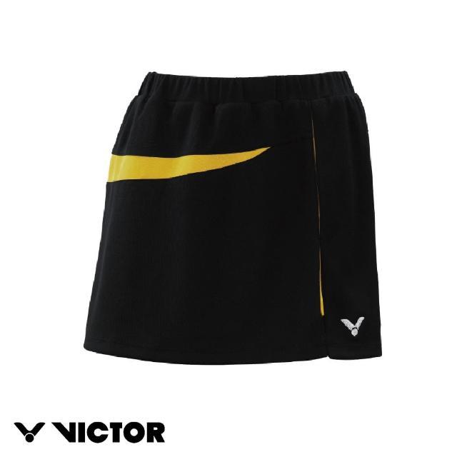 【VICTOR 勝利體育】針織運動短裙(K-3561 E 黃)