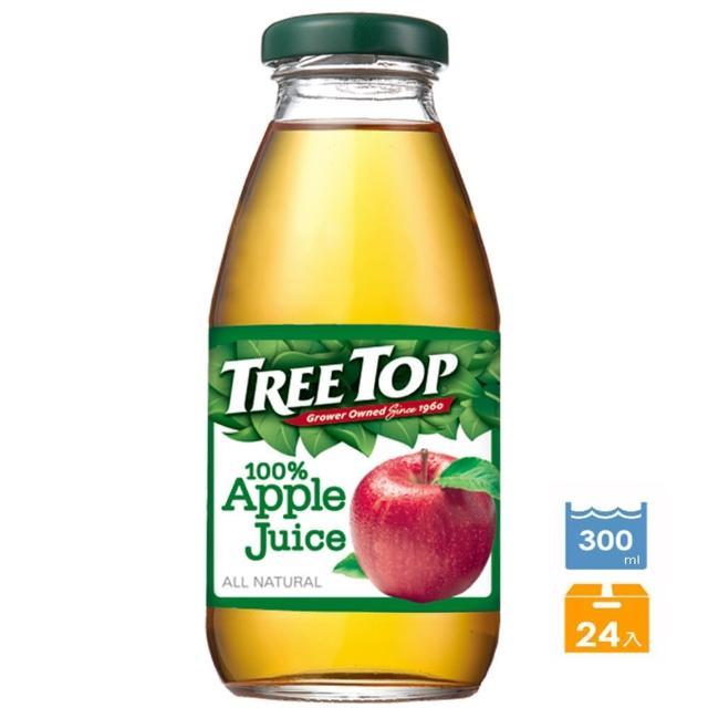 【Tree Top 樹頂】樹頂蘋果汁300ml*24罐