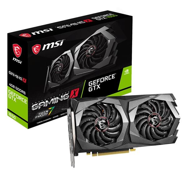 一口气4个系列!微星全新GTX 1650阵容上架:升级DDR6 也有ITX版