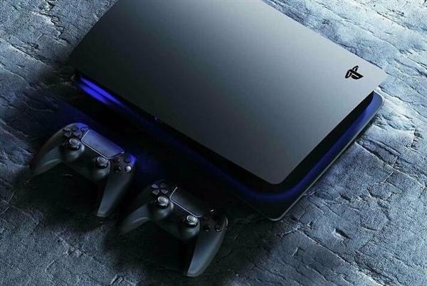 顺眼多了?饭制PS5黑色版主机渲染图