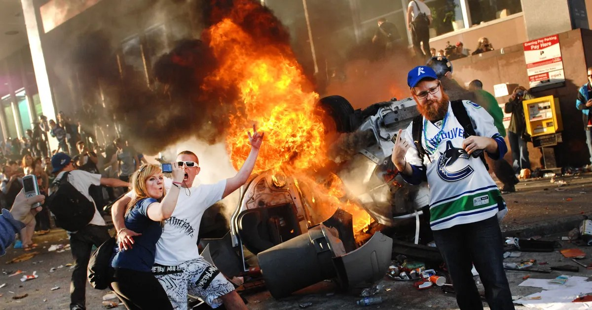 White People Rioting For No Reason NYMag