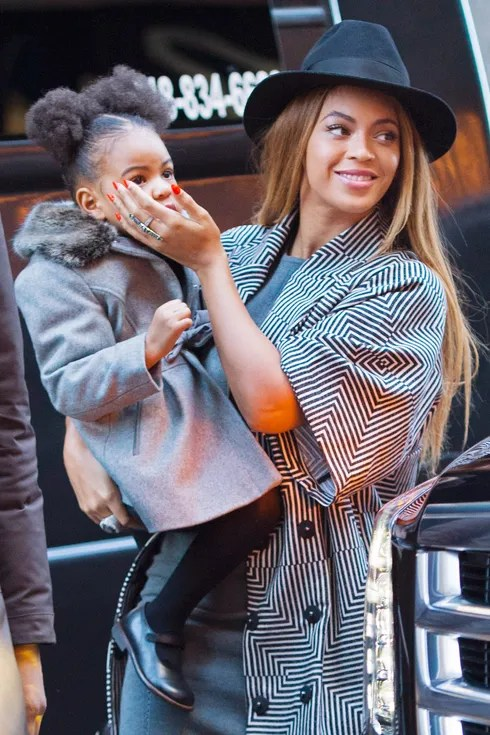 Blue Ivy Pulled A Mid Event Outfit Change The Cut