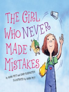Cover of The Girl Who Never Made Mistakes