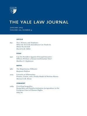 the yale law journal forum the punishment bureaucracy - 300×400