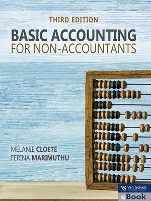 Basic Accounting For Non Accountants By Melanie Cloete