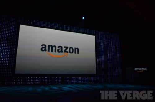 Palco evento da Amazon