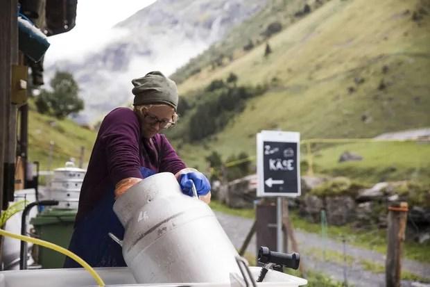 outdoor schweiz special milchkanne