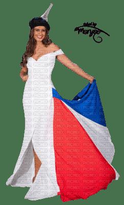 femme en bleu blanc rouge femme picmix