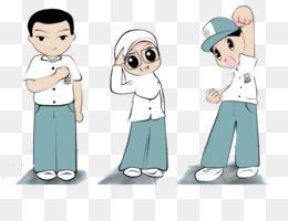Gambar Anak Sekolah Animasi Png Nusagates