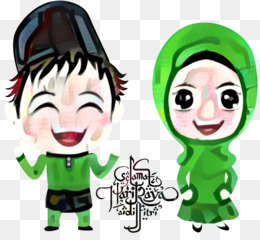 Alfitr Idul Fitri Lebaran Kartun Gambar Png