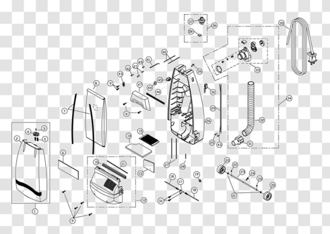 vacuum cleaner wiring diagram schematic miele  electrolux